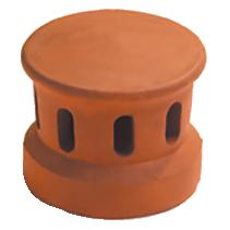 Accessoire terre cuite d'EDILIANS : Lanterne petit modèle 100 (Section d'aération 30 cm2) Ardoisé