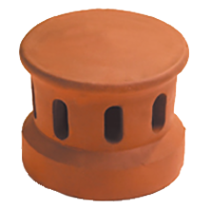 Lanterne petit modèle 100 (Section d'aération 30 cm2) Flammé rustique