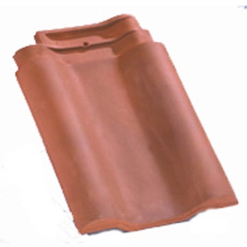 Accessoire terre cuite d'EDILIANS : Tuile double bourrelet PANNE H2