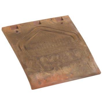 Accessoire terre cuite d'EDILIANS : Tuile et demie PLATE TRADITION 17x27 Muraille