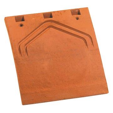 Accessoire terre cuite d'EDILIANS : Tuile et demie PLATE Phalempin 17x27 Amarante rustique