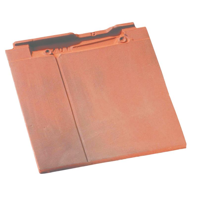 Accessoire terre cuite d'EDILIANS : Tuile et demie de finition gauche à recouvrement BEAUVOISE