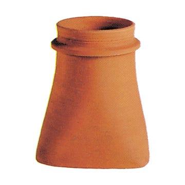 Accessoire terre cuite d'EDILIANS : Mitre à collerette 20 Hauteur 33cm