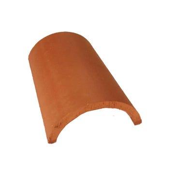 Accessoire terre cuite d'EDILIANS : Génoise Traditionnelle Simple 15x25 Rouge