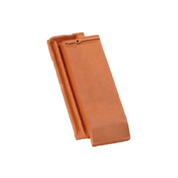 Accessoire terre cuite d'EDILIANS : 1/4 tuile DOUBLE HP 20 Flammé Rustique