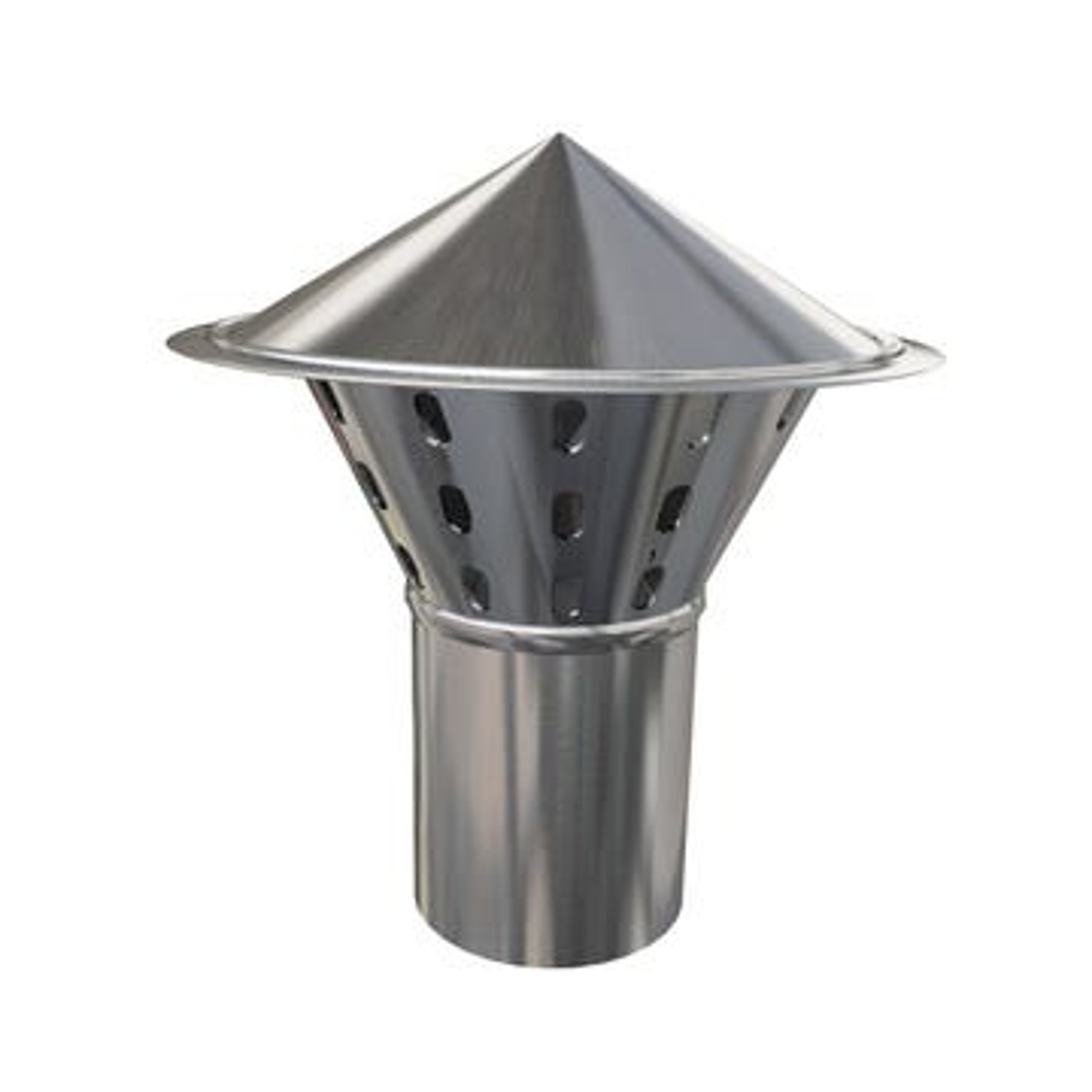 Chapeau de ventillation avec grille NATZINC