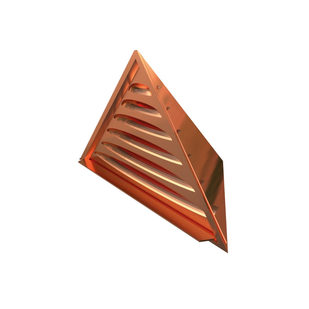 Chatière à souder triangulaire Cuivre