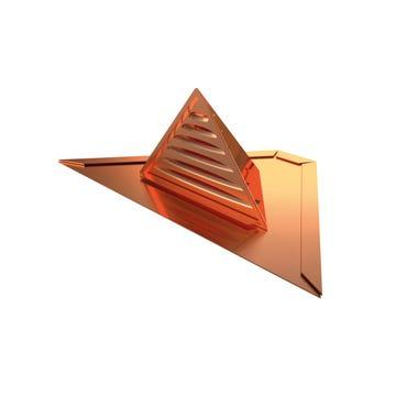 Chatière complète triangulaire Cuivre