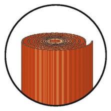 Rouleau de plomb plissé ardoisé 4/10ème 150 mm