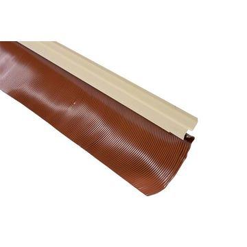 Solin joint mastic + bavette plomb lisse