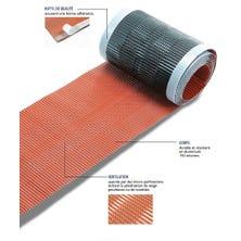 Closoir souple ZEF déroulable ventilé tout aluminium 300 brun 5 ML