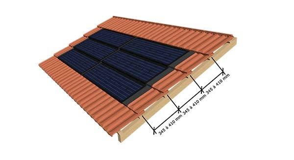 Mise en oeuvre et pose de la tuile photovoltaïque