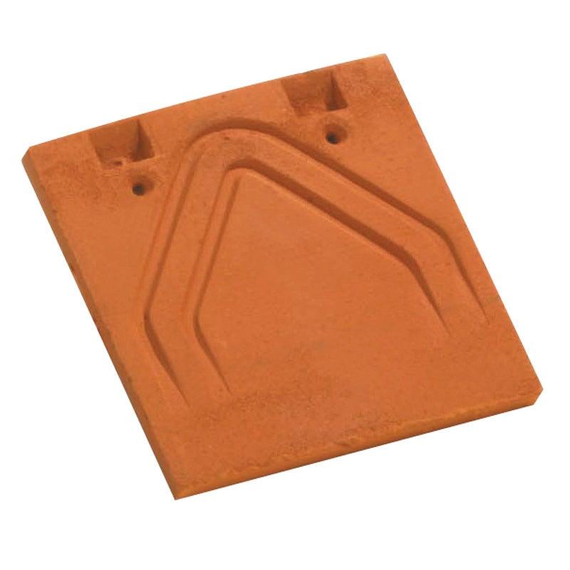 Tuile courte d'égout et de faîtage Plate Phalempin 16x24