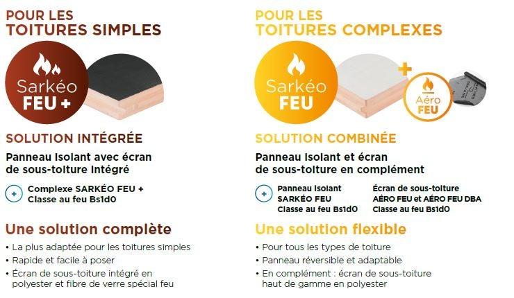 Découvrez les produits Sarkéo Feu et Sarkéo Feu + d'EDILIANS