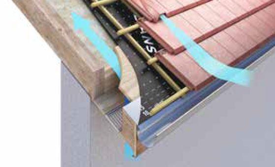 ventilation ecran sous toiture