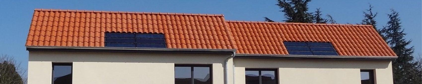 Tuile Solaire Max installées en toiture