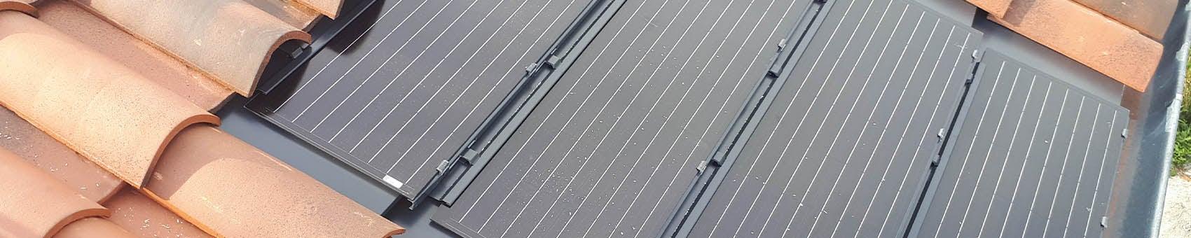 Tuile Solaire Max et tuiles canal en toiture