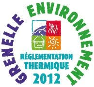 Logo, réglementation thermique 2012, grennelle de l'environnement