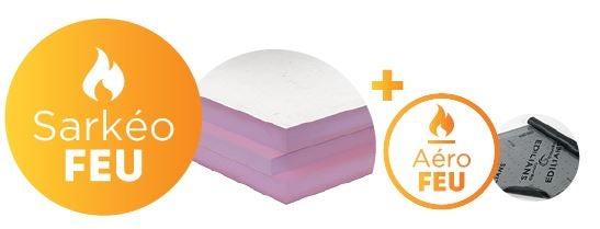 Découvrez Sarkeo FEU Pour isoler les toitures complexes