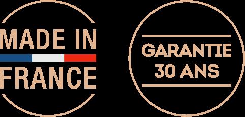 Made in France - Garantie 30 ans